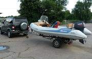 Продам лодку RIB Adventure Vesta  V450 + Мотор YAMAHA 50 HETL + Лафет