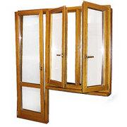 Окна и двери деревянные под заказ