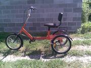 Велосипед трёхколёсный для взрослых,  велорикша. Грузовой велосипед