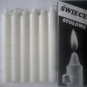 Бытовые парафиновые свечи.