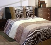 Постельное белье опт,  Комплект 1, 5 спальный Малибу