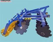 Дисковая борона навесная для трактора 2, 8 АГД