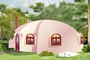 Купольные и арочные строения под бизнес и жилье из стройпенопласта