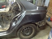 задняя левая четверть Renault Laguna 2, Рено Лагуна