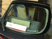 Стекло задней двери, крышки багажника лифтбек Renault Laguna 2,  Рено Ла