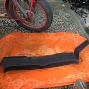 обшивка,  пластик задней стенки багажника на Renault Laguna 2,  Рено Лаг